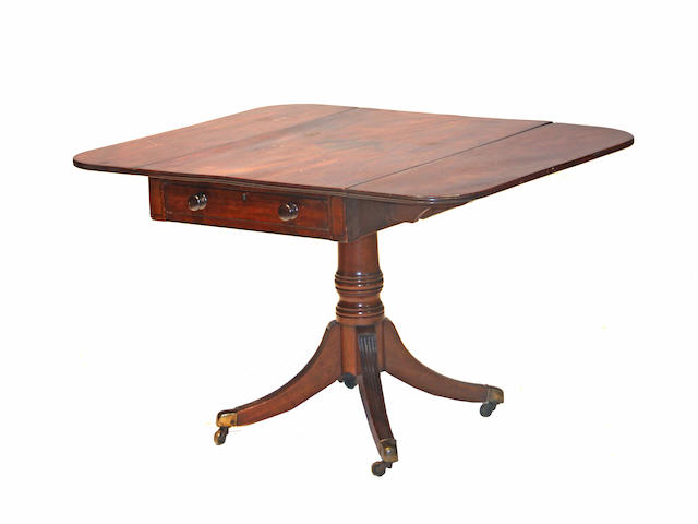 A William IV mahogany breakfast table