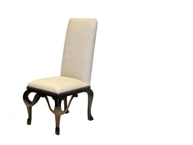 A set of five Baroque style side chairs, Michael Taylor Designs