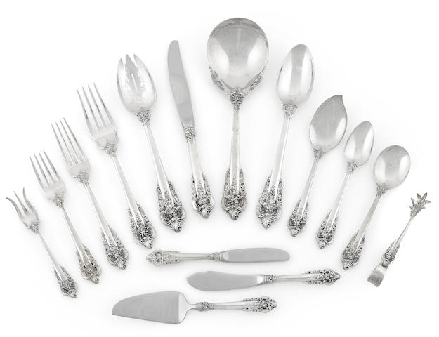 A large set of silverware- inspection