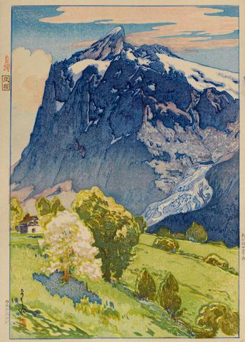 Yoshida Hiroshi (1876-1950) Wetterhorn