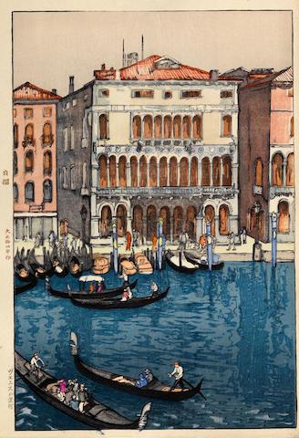 Yoshida Hiroshi (1876-1950)<BR />Venice