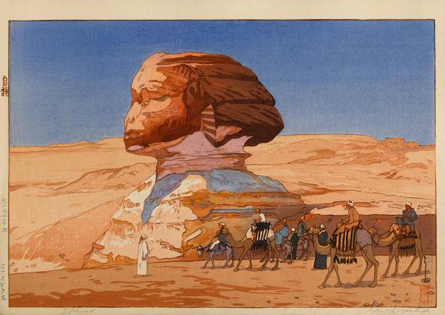 Yoshida Hiroshi (1876-1950) Sphinx