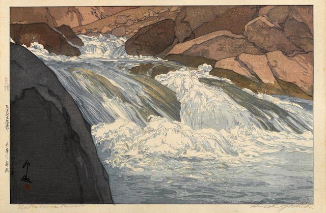 Yoshida Hiroshi (1876-1950)<BR />Nakabusa River
