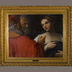 Italian School, late 18th/early 19th Century Susannah and the elders 27 3/4 x 35in