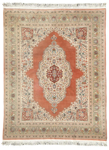 A contemporary Indo Kerman carpet