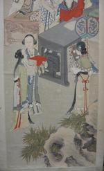 Huang Shanshou (1855-1919) Lady Ban Completing the History of the Han Dynasty