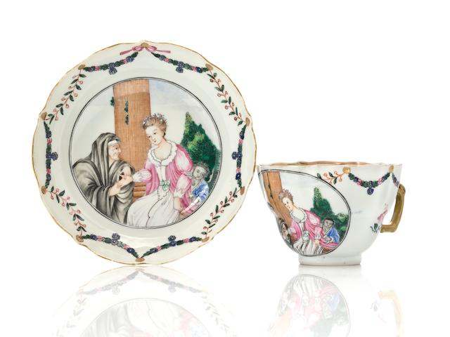 CEP Fortune Teller cup and saucer