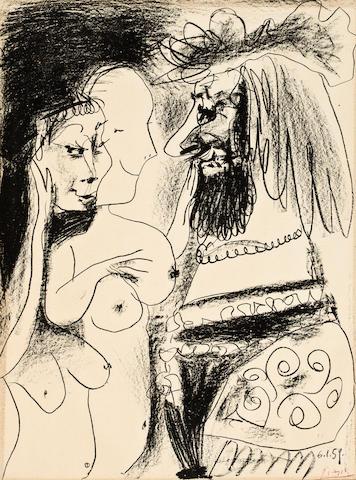 Pablo Picasso (1881-1973); Le Vieux Roi;