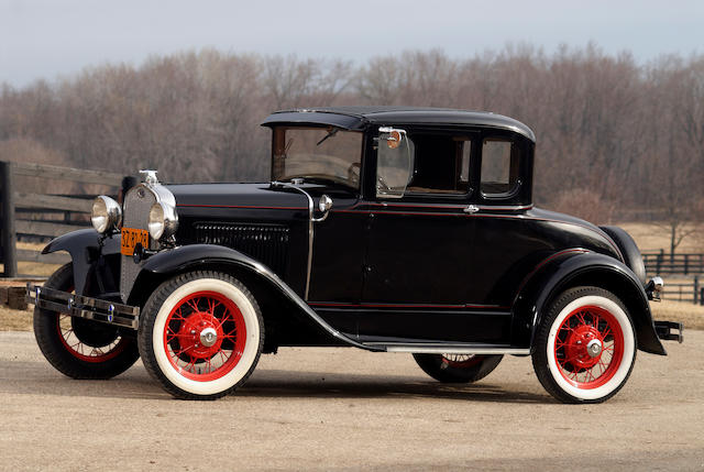 1930 Ford Model A Five Window  Engine no. A3020483