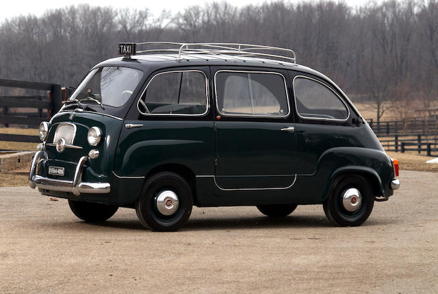 From the Oldenburg Family Collection,1960 Fiat Multipla 600 Taxi  Chassis no. 100108074075
