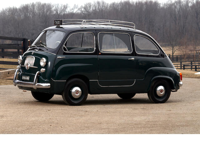 1960 Fiat Multipla 600 Taxi  Chassis no. 100108074075