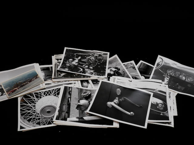 A large quantity of photographs as used in John DeCampi's book Rolls-Royce in America,