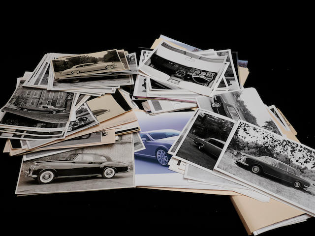 A large quantity of original Rolls-Royce photographs,