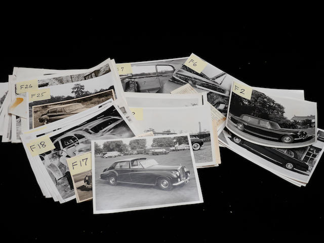A good collection of original Rolls-Royce photographs,