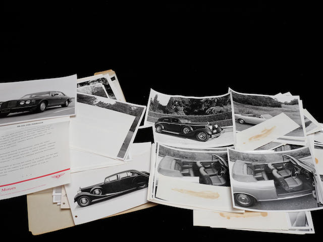 A quantity of Rolls-Royce and Bentley photographs,
