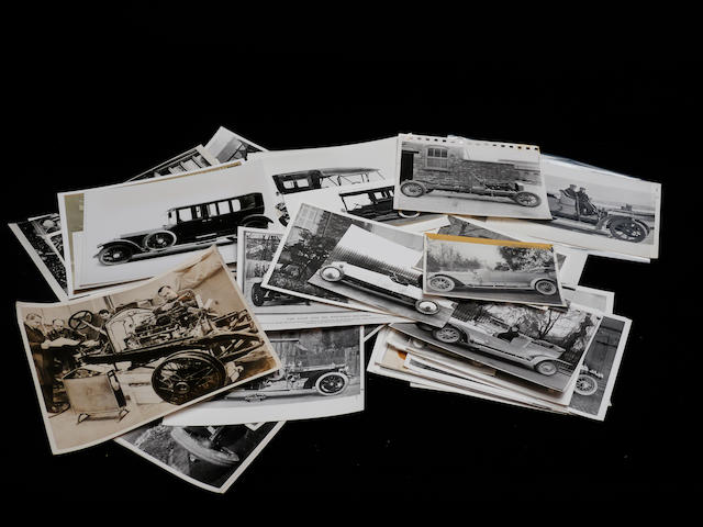 A good collection of photographs of pre-war Silver Ghost Rolls-Royces,