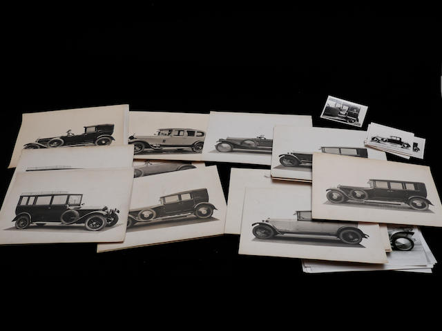 A good set of original images of Parkward Coachwork on primarily Rolls-Royce chassis,