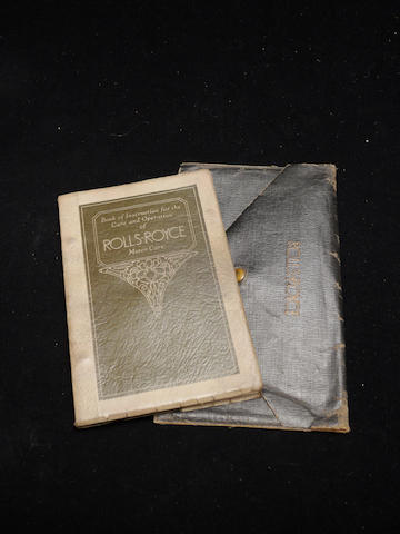 A good Springfield Phantom I handbook with sleeve,