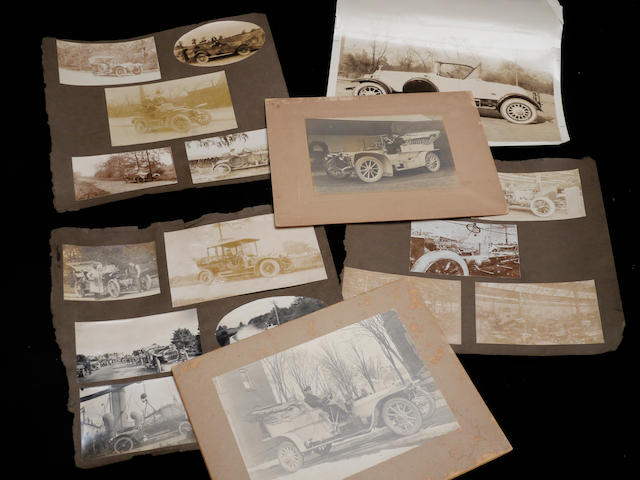 A collection of original photographs of mainly pre-war Rolls-Royces and other pre-war cars,