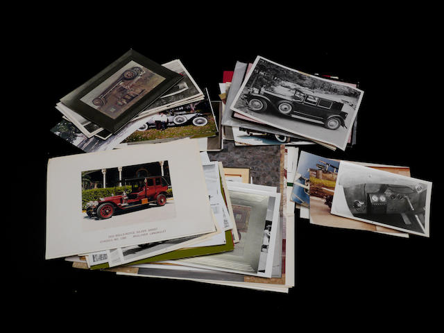 A quantity of Rolls-Royce photographs,