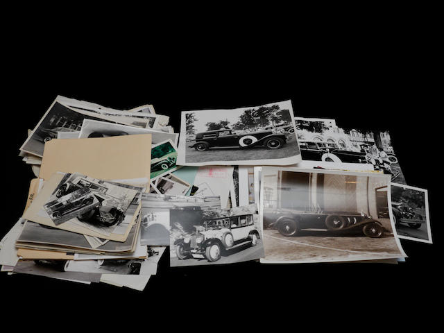 A large quantity of primarily post-war Rolls-Royce photographs,