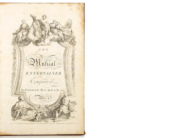 Bickham. A Musical Entertainer. L: 1737.