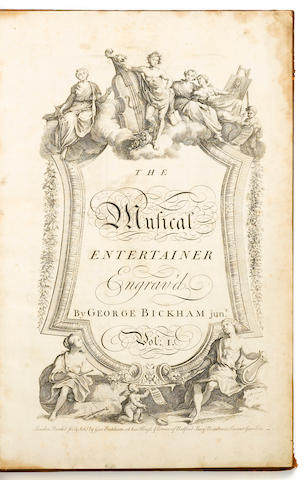 Bickham. A Musical Entertainer. L: 1737.