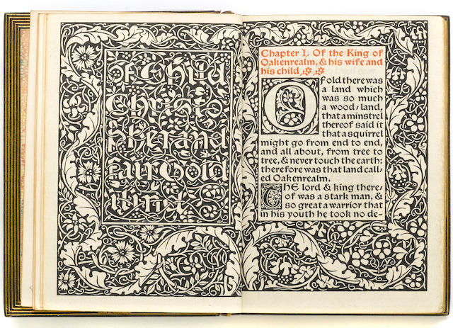KELMSCOTT PRESS. Child Christopher.