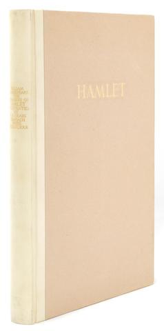 CRANACH PRESS. SHAKESPEARE, WILLIAM. The Tragedie of Hamlet, Prince of Denmarke. Weimar: Count Harry Kessler at the Cranach Press, 1930.