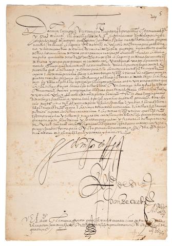 Martin Enrique de Almanza 1572