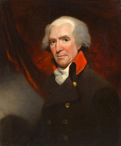 Attributed to Gilbert Stuart, Portrait of a gentleman