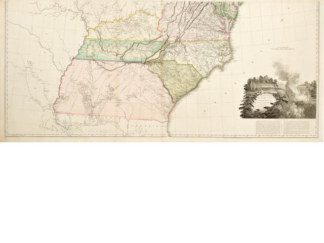 Arrowsmith Map of the United States of North America 1802