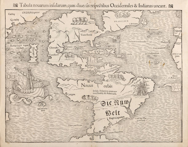 Munster, Tabula Novarum 1550