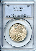 1937 50C MS65 Roanoke PCGS