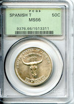 1936 Spanish Trail 50C MS66 PCGS