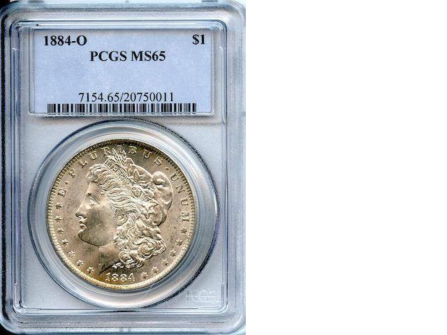 1884-O $1 MS65 PCGS