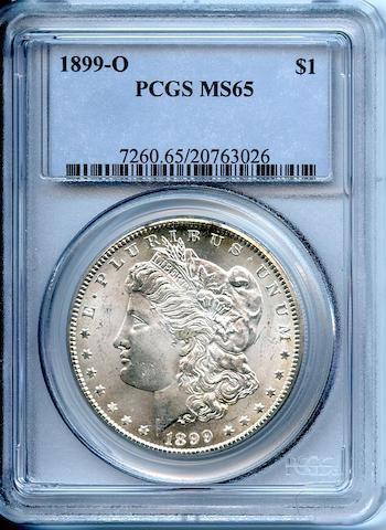 1899-O $1 MS65 PCGS