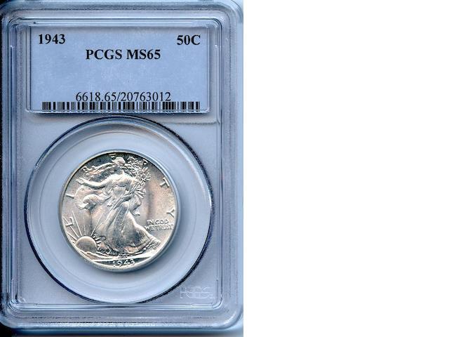1943 50C MS65 PCGS