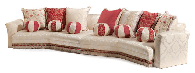 A Michael Taylor fully upholstered sofa