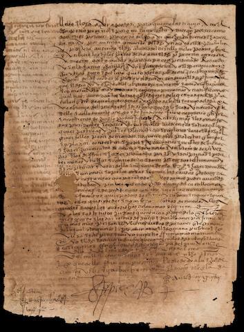 PIZARRO, PEDRO, D.S. 1580