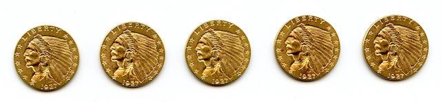 1927 $2.5 (5)