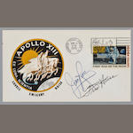 APOLLO 13 LAUNCH POSTAL COVER - SIGNED