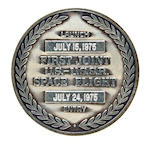 STAFFORD'S PRIZED FLOWN ASTP ROBBINS MEDALLION – SERIAL NUMBER 1.