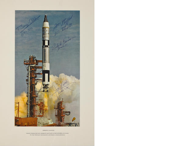GEMINI TITAN LAUNCH - SIGNED.
