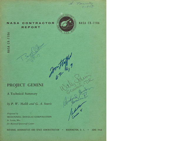 COMPREHENSIVE DETAILS OF THE GEMINI PROGRAM - SIGNED.