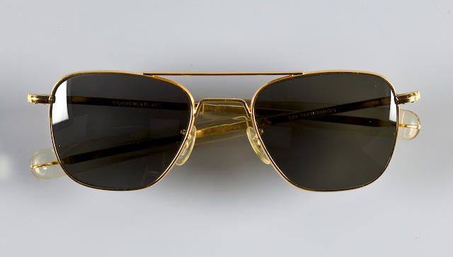WALLY SCHIRRA'S PILOT SUNGLASSES. SCHIRRA ON PREFERENCES IN SPORTS CARS AND MORE!