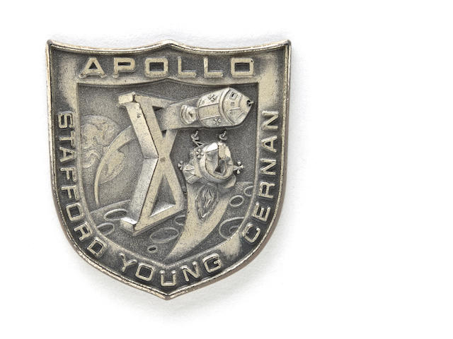 ROBBINS MEDALLION CARRIED IN LUNAR MODULE SNOOPY ON APOLLO X