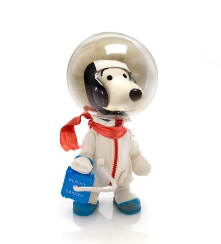 SNOOPY ASTRONAUT DOLLS – SYMBOLS OF THE APOLLO X LM CREW - SIGNED