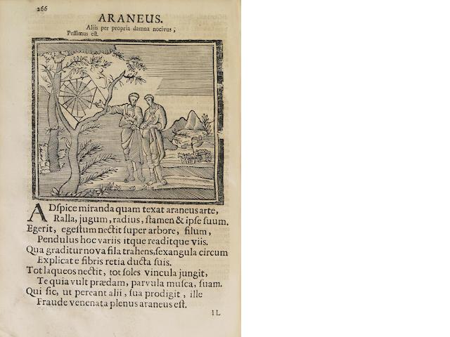 Abramo.  Dischiaraa Coraggio e Vilta. SANCTA CLARA, ABRAHAM A. 1644-1709.  Coraggio e Vilta, l'Uno Nella Virtu, l'Altra nel Vizio. Trento: Gio. Parone, 1717.<BR />