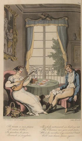ROWLANDSON, THOMAS, illustrator. [ENGELBACH, LEWIS.] Naples and the Campagna Felice. London: R. Ackermann, 1815.